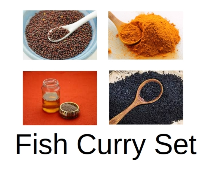 Fish Curry Set (800 g)