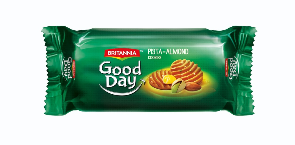 Britania Good Day Pista-Almond Cookies - 75 g