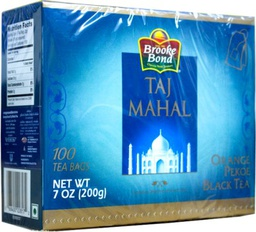 TAJ MAHAL TEA BAGS - 200g (Box)