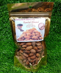 Golden Roots Roasted Almond (In ghee with Black Pepper and Pink Salt) 200g